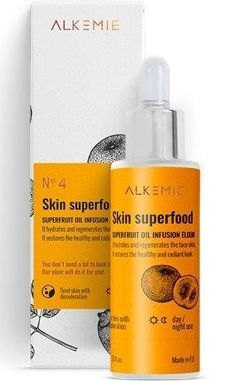 ALKEMIE Nature's Treasure Skin Superfood multiwitaminowy olejek z organicznym koncentratem z super owoców, 30 ml