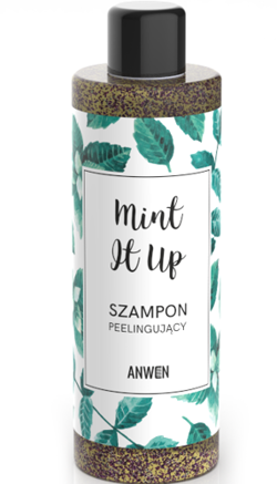 ANWEN szampon peelingujący MINT IT UP, saszetka 10 ml