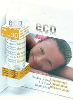 Eco cosmetics Balsam do ust faktor SPF 30