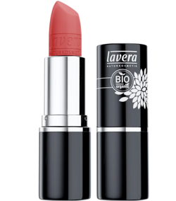 Lavera BEAUTIFUL LIPS szminka z intensywnym pigmentem 22 CORAL FLASH